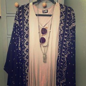 Mauve mini dress or tunic